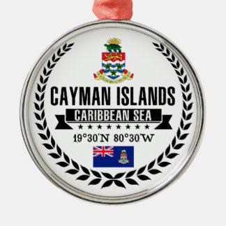 Adorno Metálico Islas Caimán