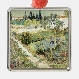 Adorno Metálico Jardín de Vincent van Gogh en Arles