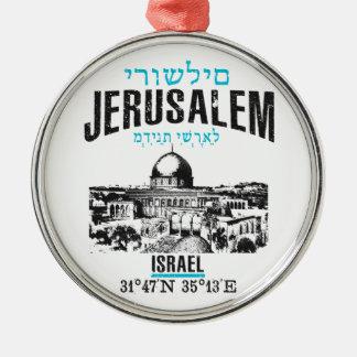 Adorno Metálico Jerusalén