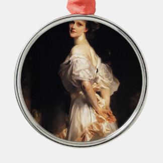 Adorno Metálico John Singer Sargent - Nancy Astor - bella arte