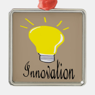 Adorno Metálico la luz de la innovación