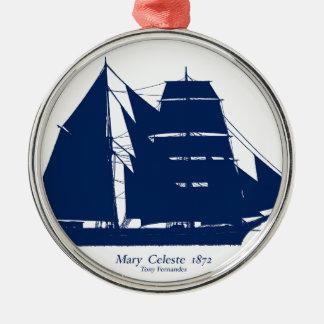 Adorno Metálico La Maria Celeste 1872 por los fernandes tony