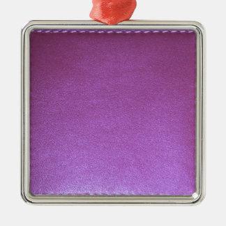 Adorno Metálico La plantilla de cuero púrpura del final añade la