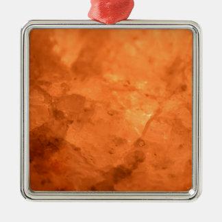 Adorno Metálico Lámpara de la sal de roca