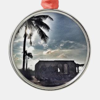 Adorno Metálico Las ruinas en la isla de Bantayan