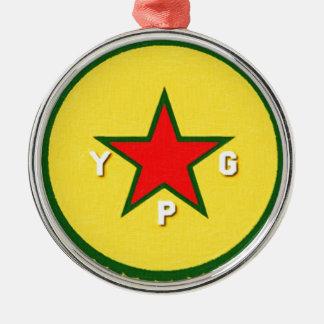 Adorno Metálico logotipo del ypg