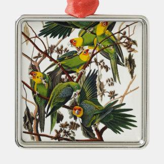 Adorno Metálico Loro de Carolina - John James Audubon (1827-1838)