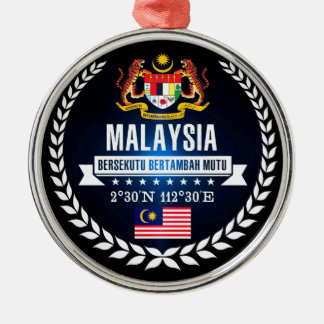 Adorno Metálico Malasia
