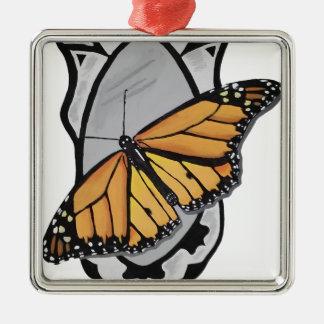 Adorno Metálico Mariposa del espejo