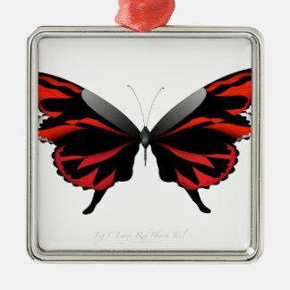 Adorno Metálico Mariposa roja 1 por los fernandes tony