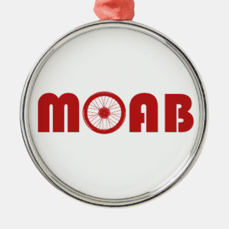Adorno Metálico Moab (rueda de la bici)