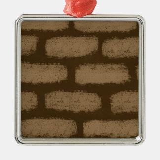 Adorno Metálico Modelo de los ladrillos de Brown