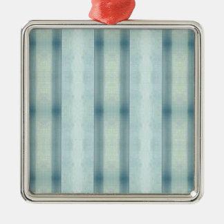 Adorno Metálico Modelo rayado del trullo en colores pastel suave