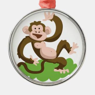 Adorno Metálico mono del baile