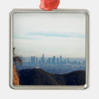 Adorno Metálico Montaña enmarcada LA