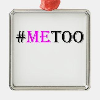 Adorno Metálico Movimiento del #METOO para las derechas para mujer