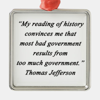 Adorno Metálico Mún gobierno - Thomas Jefferson