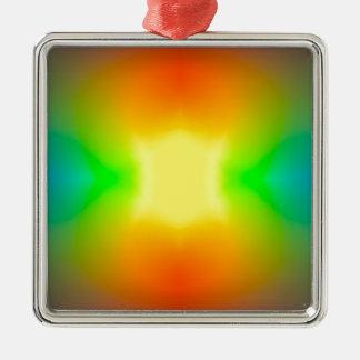 Adorno Metálico Mundo del arco iris