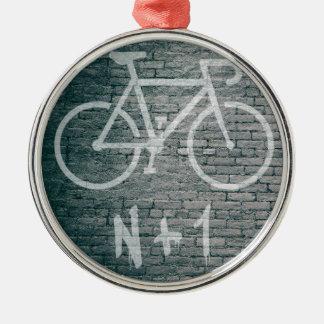 Adorno Metálico N+1 pintada de la bici