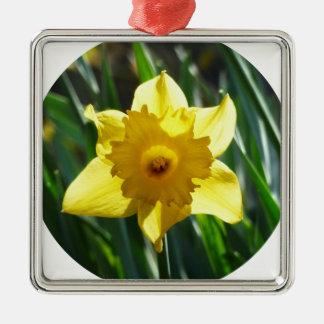 Adorno Metálico Narciso amarillo 02.2_o