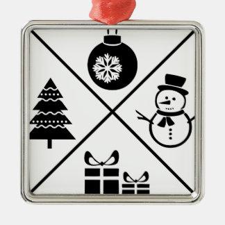 Adorno Metálico Navidad