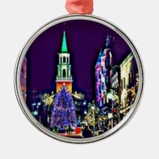 Adorno Metálico Navidad en ciudad