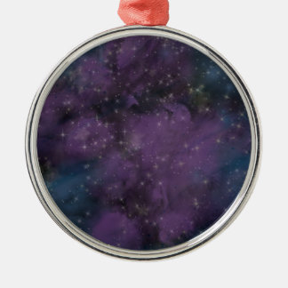 Adorno Metálico Nebulosa púrpura de la galaxia