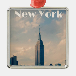 Adorno Metálico New York City