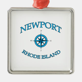 Adorno Metálico Newport Rhode Island náutica