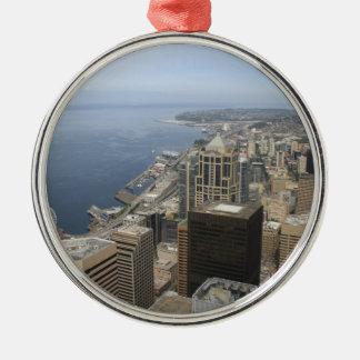 Adorno Metálico Opinión de Arial de Seattle