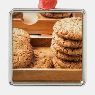 Adorno Metálico Opinión del primer sobre las galletas de la avena
