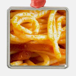 Adorno Metálico Opinión macra detallada sobre los espaguetis