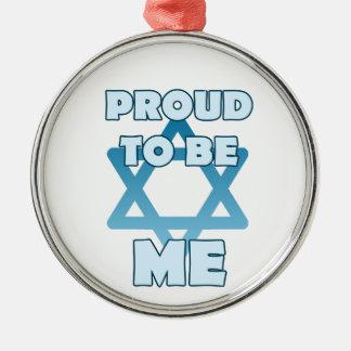 Adorno Metálico Orgulloso ser judío