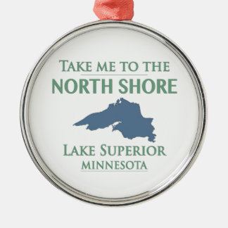 Adorno Metálico Orilla del norte del lago Superior
