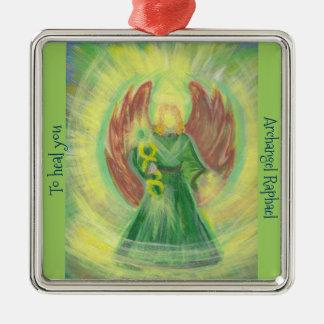 Adorno Metálico Ornamento: Raphael del arcángel
