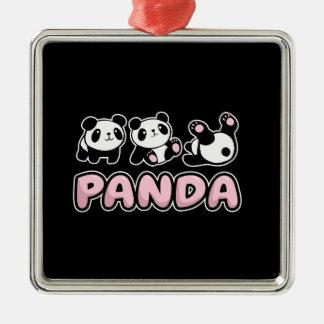 Adorno Metálico Panda