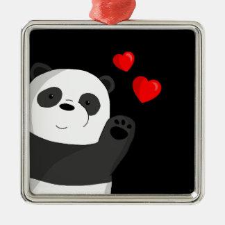 Adorno Metálico Panda linda