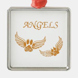 Adorno Metálico Patas apenadas del mascota del ángel