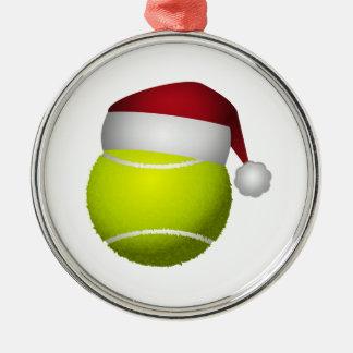 Adorno Metálico Pelota de tenis del navidad