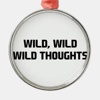 Adorno Metálico Pensamientos salvajes salvajes