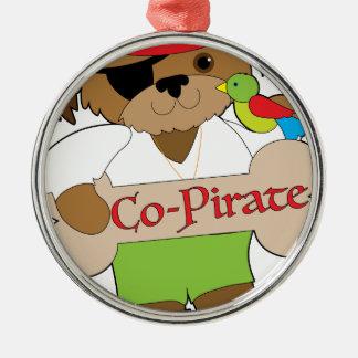 Adorno Metálico Perro del Co-Pirata