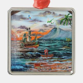 Adorno Metálico Pintura de Bell del chapucero de la ensenada del