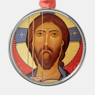 Adorno Metálico Pintura de Jesús