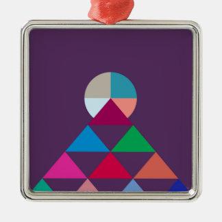 Adorno Metálico Pirámide
