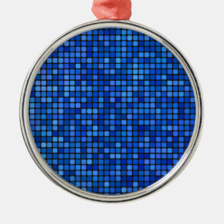 Adorno Metálico pixel cuadrado