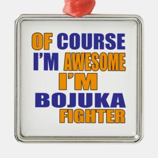 Adorno Metálico Por supuesto soy combatiente de Bojuka