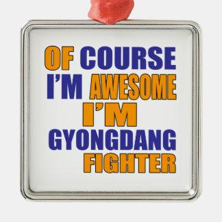 Adorno Metálico Por supuesto soy combatiente de Gyongdang