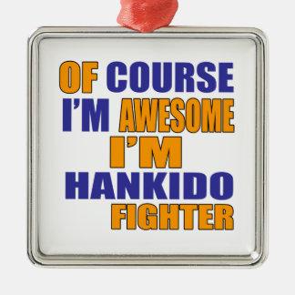 Adorno Metálico Por supuesto soy combatiente de Hankido
