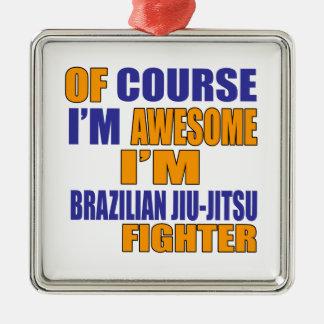 Adorno Metálico Por supuesto soy combatiente de Jiu-Jitsu del