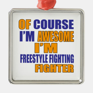 Adorno Metálico Por supuesto soy combatiente que lucha del estilo
